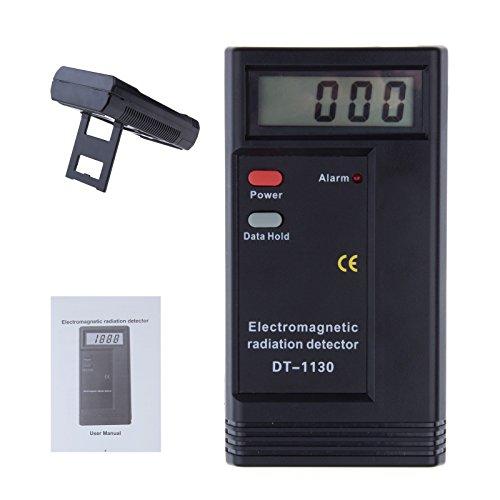 Strahlung Detektor LCD Digital elektromagnetische Strahlung Detektor Digital EMF Meter Dosimeter Tester 50hz-2000mhz
