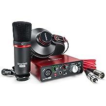 Focusrite Scarlett Solo Studio (2G) Interface audio USB et audio avec outils Pro Tools