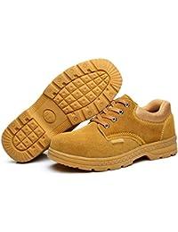 Botas para hombres Calzado casual de los hombres zapatillas antideslizantes botas de trekking para ayudar a