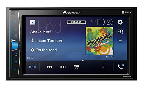 Pioneer mvh-a200vbt 15,7 cm Auto Touchscreen Multimedia-Receiver Ipod-video-out-kabel