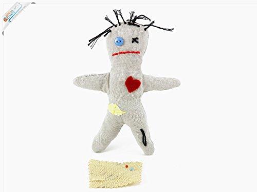 Preisvergleich Produktbild Esoterik Voodoo Puppe inklusive Nadeln - Schwarze Magie und Liebeszauber