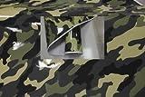 Könighaus Jungle Camo II 100 x 152 cm blasenfrei mit Anleitung (Camouflage Autofolie)