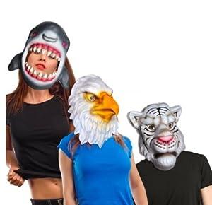 FIORI PAOLO-Máscara Animales de Eva soggeto Varios, Multicolor, 004.74048