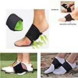 Param Cushioned Compression Arch Support for Flat and Achy Feet (Unisex) - 1 Pair