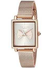 9f38f40d239 Ted Baker Women s Analog Quartz Watch with Stainless-Steel Strap TE50516004