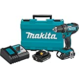 Makita XFD10R 18V Compact Lithium-Ion Cordless 1/2' Driver-Drill Kit by Makita