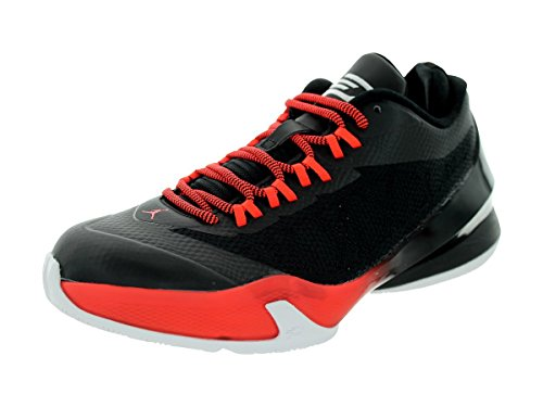Nike CP3 VIII BG Black Red Youths Trainers Black Red
