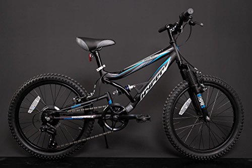 20 Zoll Kinder Fahrrad MTB Fully Shimano Mountainbike schwarz