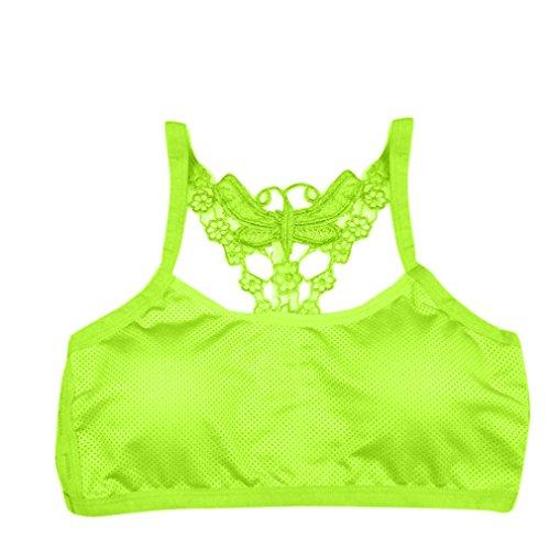 Soutien-gorge pour femmes,Tonwalk Yoga Fitness Exercices Veste Vert