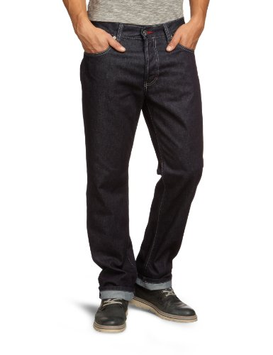 MUSTANG Jeans Herren Jeans Normaler Bund Oregon 3162-5203, Gr. 32/34, Blau (rinse washed 590) (5-pocket-traditionelle Fit-jeans)