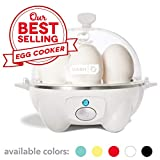 Best Egg Boilers - Dash Rapid Egg Cooker, White Review