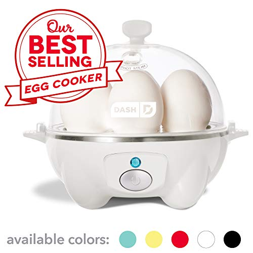 41K2i218FYL. SS500  - Dash Rapid Egg Cooker, White