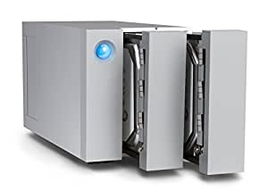 LaCie 2big 8 TB (2 x 4 TB) Dual Thunderbolt 2 + USB 3.0 Professional Dual-Disk, 7200 RPM Desktop RAID for PC and Mac