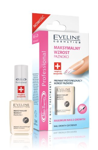 Eveline Cosmetics Nail Growth Quickener, 1er Pack (1 x 12 ml) -