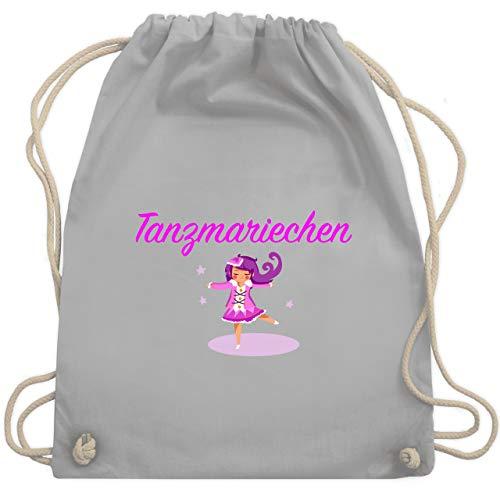 Karneval & Fasching - Tanzmariechen pink - Unisize - Hellgrau - WM110 - Turnbeutel & Gym Bag
