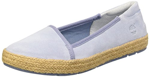 Timberland Casco Bay_Casco Bay Leather Slip On, Sneakers basses femme Bleu (Azzurro)