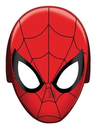 Spider-Man Papier Maske (Dress Up Spiderman)