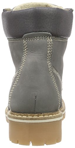 Mustang  Schnürbooty, Bottes Classics courtes, doublure froide femmes Gris (20 Dunkelgrau)