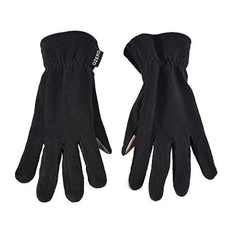 WM Polaire polaire chaud écran tactile gants, coupe-vent et gants résistant à l'eau, hiver chaud froid à basse température résistance hommes et femmes général - W0-7004