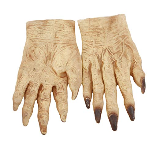Weiy Halloween Monster Ghoul Guantes Manos Zombie