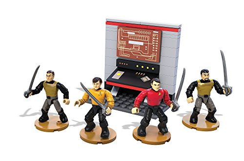 Mega Bloks - Star Trek The Original Series - Day Of The Dove Figures (Set Of 4) (Dpy05)