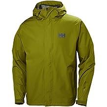 Helly Hansen Seven J Shell Jacket, Hombre, fir Green, XL