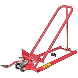 Arnold 6031-X1-0013Pelle pour tracteurs à gazon et tondeuse autoportée-Hydraulique, rouge