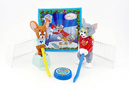 Kinder Überraschung, Tom und Jerry beim Eishockey - Spielen mit BPZ aus dem Maxi Ei Tom Jerry Spiel