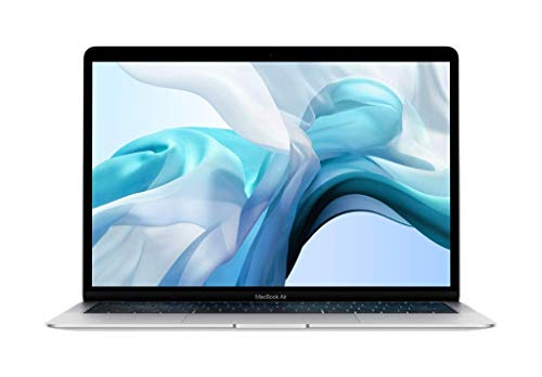 Apple MacBook Air (de 13 pulgadas, Intel Core i5 de doble núcleo a 1,6 GHz, 8 GB RAM, 256 GB) - Plata (Ultimo Modelo)