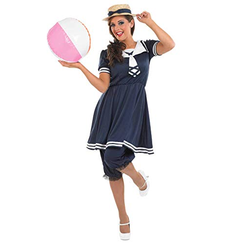 Fun Shack Damen Costume Kostüm Womens Victorian Bathing Suit, m