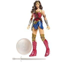 Justice League Figura básica Wonder Woman Core Suit Mattel Spain FGG63