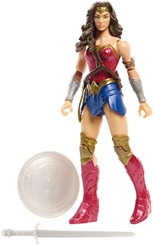 Justice League - Figura básica Wonder Woman Core Suit, 15 cm (Mattel FGG63)