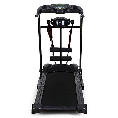 Klarfit Treado Advanced Laufband, Hometrainer, Trainingscomputer, zusammenklappbar Abbildung 2