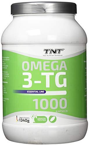 1000 Premium Omega 3 Kapseln Hochdosiert - Reines Fischöl mit EPA & DHA ohne Zusätze - Laborgeprüft