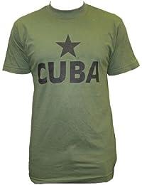 Dallaswear - T-shirt -  Homme Vert Vert olive