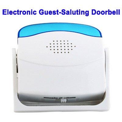 Bewegungsmelder Besucher - Durchgangsmelder mit Signalalarm Immer und überall: Diskrete und vollautomatisch Überwachung (32 Melodien)