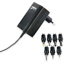 ANSMANN APS 300 Universal Stecker Netzteil zur Stromversorgung vieler Elektrokleingeräte weltweit einsetzbar für Idena Kinder CD-Player SING-A-LONG, Laptop, Babyphone, Crosstrainer usw. (1 Stück)