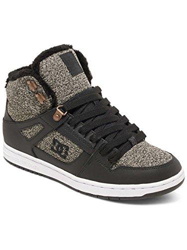 DC Shoes Rebound, Sneakers Basses Femme Black Dark Used