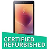 (CERTIFIED REFURBISHED) Samsung Galaxy Tab A 2017 SM-T385NZDAINS Tablet (8 Inch, 16GB, Wi-Fi + 4G LTE + Voice Calling), Gold