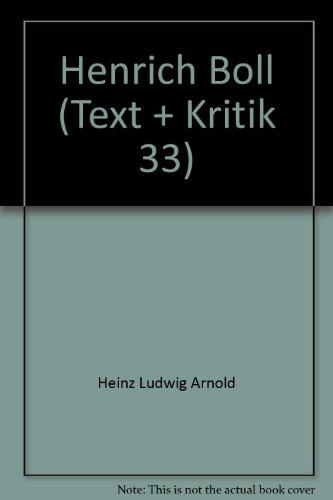 Henrich Boll (Text + Kritik 33)