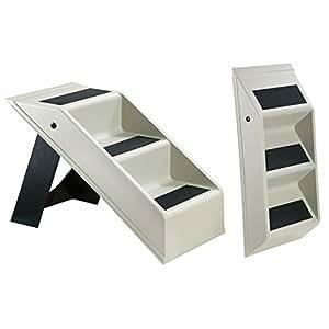 escalier pour chien avec trois niveaux pliable animal escalier rampe pour chien chat escalier. Black Bedroom Furniture Sets. Home Design Ideas