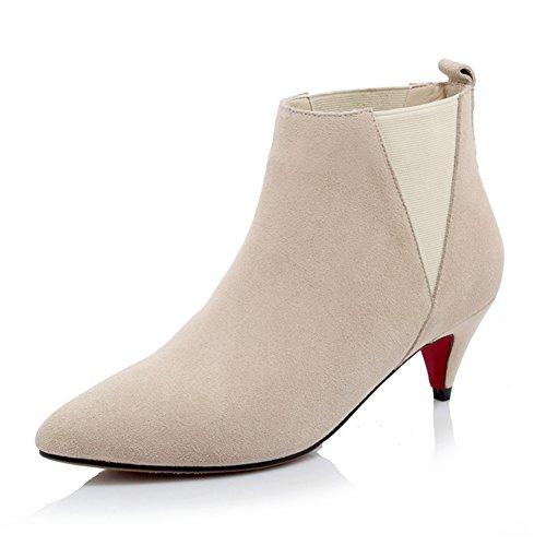 A punta a spillo stivali/Stivali/ gli stivali nudi e selvaggi-B Lunghezza piede=24.3CM(9.6Inch)