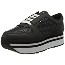 Tommy Hilfiger Women's Ariana 1A2 Trainers, Black (Black Bds), 5 (38 EU)