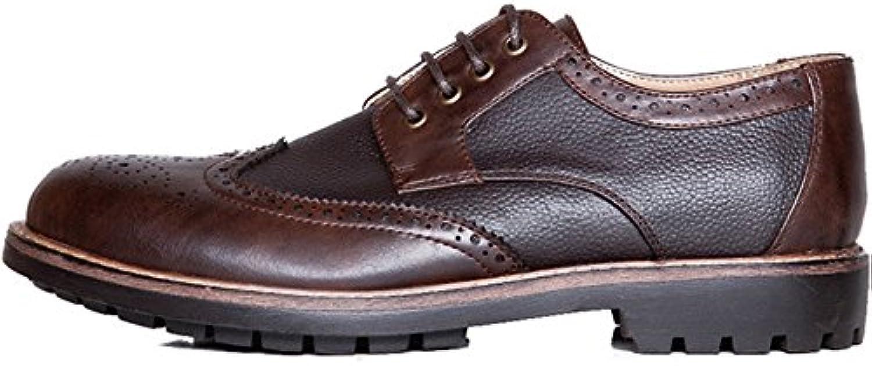 Formale Männliche Klassische Schuh Handgemachte Mens Bullock Hochzeit Zeremonie Schwarz Braun Mode SchnürRunde