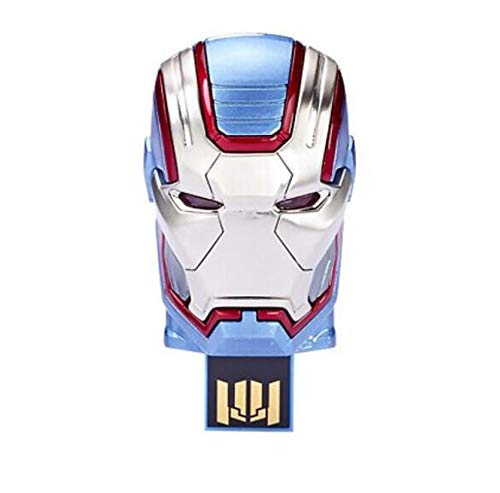 USB-Stick Memory Stick Thumb Pen Drive Schnelle Geschwindigkeit Marvel Serie Erleuchten PersöNlichkeit Kreativ Karikatur Anime The Avengers Star Wars Superhero (64G, Patriot) (Patriot-flash-laufwerk-64)