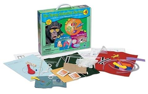 Young Scientist Series–Lot de 6: kit de vol (16)–Cœur et kit de poumons (17)–Système digestif (Kit 18)
