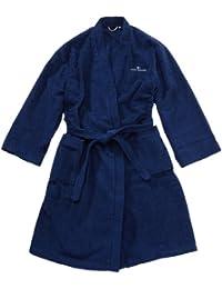 TOM TAILOR 100300/908/704 Kimono Bademantel, Gr. XL, navy