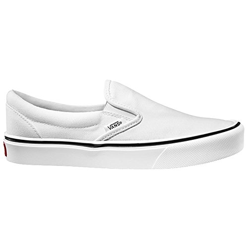 Vans Slip-on Lite Plus, Unisex-Erwachsene Sneakers, Weiß (canvas/true White), 38 EU