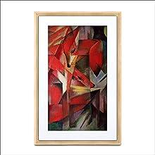 Meural MC321LW Canvas II – the Smart Art Frame with 55 cm HD Digital Canvas, 41x61 cm Light Wood (WiFi-Connected)