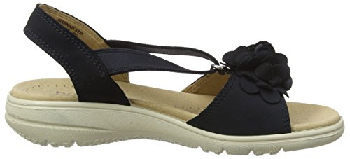 Hotter Hannah, Scarpe Col Tacco Donna Blue (Navy)
